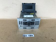 Vauxhall Astra/zafira Cd30 Cd Stereo With Display Screen Paired