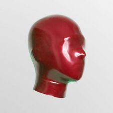 0.25mm High Quality Latex Rubber Full covered Mask Hood bondage micropores Nose