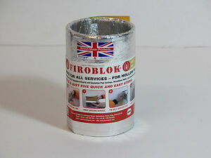 Envirograf Intumescent Firoblok Pipe & Cable Sleeves 150mm Long - Fire Stopping