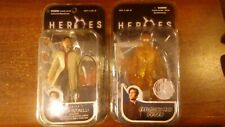 MEZCO Heroes Peter Petrelli bundle (Series 1 and Exploding Man) opened/used