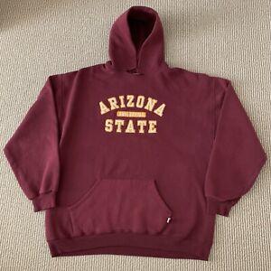 Vintage Russell Athletic Arizona State Sun Devils Sz XL ASU Hoodie Sweatshirt