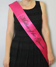 Hens Night Bride to Be Bridesmaid Maid of Honour Sash Wedding Party Silver Complete Set 1