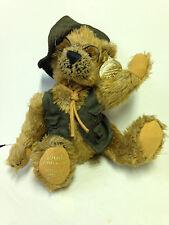 Dan Dee Teddy Bear 100th Anniversary Teddy Roosevelt Fishing 1902-2002