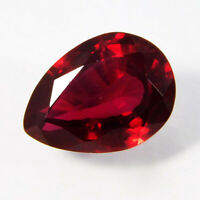 6 Ct CERTIFIED Free Ship! Top Red 100%Natural Ruby Precious Loose Gemstone