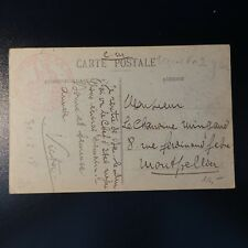 TARJETA CARTA COVER COMPAÑÍA DE P.G 308 BAR EL DUQUE 1918