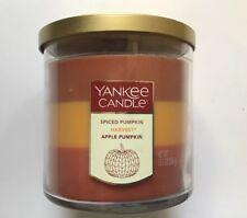 Yankee Candle AUTUMN TRIO 12.5 oz MEDIUM TUMBLER HTF RETIRED ITEM LAYERED SCENTS