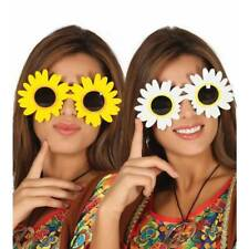 Grand Marguerite Lunettes de soleil flower power hippie années 1960 Déguisement