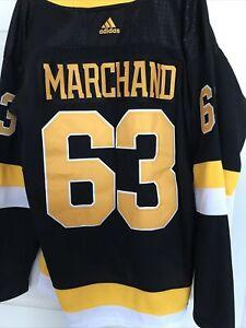 Boston Bruins Adidas Marchand Jersey Size 52