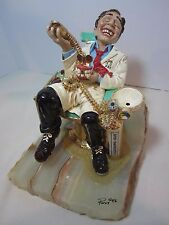 Large Ron Lee Dentist High on Laughing Gas Figurine - 1986 -Excellent Condition!