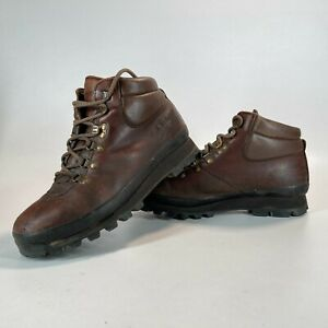 Brasher Hillmaster GTX Brown Leather Walking Hiking Boots UK 8 - FAST POSTAGE