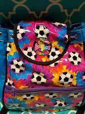 LISA FRANK Groovy Fantastic Fashions Soccer Flowers Children's Backpack Bag