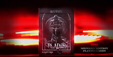 CARTE DA GIOCO BLADES MMD MIDNIGHT EDITION BLOOD SPEAR poker size
