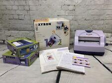 Xyron 510 Laminator Sticker Magnet Label Maker With 2 Cartridges 7' Mag/18'matte