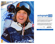 Louie Vito X-Games Gold Olympic Snowboarding Superpipe Signed 8x10 Photo ACOA A