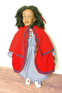 """Rare Stacy Bayne  22""""  Inches Red Riding Hood 1998 009/ 500 Doll"""