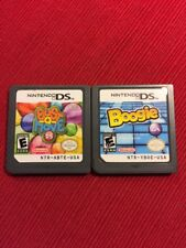 Lot of 2 Music Rhythm Games Bust a Move Boogie (Nintendo DS) - Tested