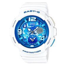 Casio Baby-G * BGA190GL-7B Dual Dial World Time Gloss White COD PayPal