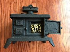 Vintage Dot Cast Iron Cook With Cash Stove
