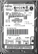 FUJITSU MHT2060AT 60GB IDE HARD DRIVE  P/N: CA06297-B23600C1