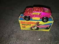 Matchbox Superfast No 30 BEACH BUGGY with box