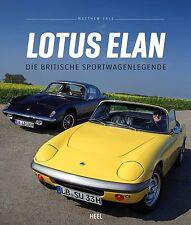 Lotus Elan (S 1 2 3 4 Sprint 2+2 S Plus 2 26R Rennsport M100) Buch book DEUTSCH
