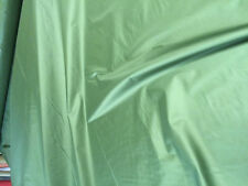 "5 MTS 64"" WIDE LIGHT OLIVE GREEN NON RIPSTOP WATERPROOF WINDPROOF PERTEX  FABRIC"