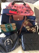 Huge Lot of Handbags All Sizes & Brands, Lobngchamp, Coach, Sorial etc.