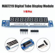 MAX7219 LED Module 8-Digit 7 Segment Digital LED Display Module for Pi