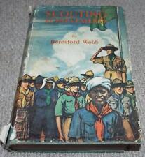 Scouting Achievements Book by Beresford Webb - 1937 Boy Scouts Book