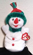"Ty Beanie Baby Original ""Snowgirl"" 2000 Retired"