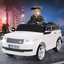 12V Ride On Car Kids W/ Mp3 Electric Battery Power Remote Control Rc White