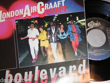 """7"""" - London Aircraaft / Boulevard & Soldiers of the Night - MINT 1985 # 0613"""