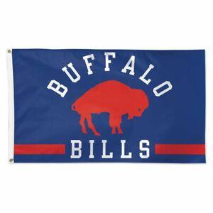 BUFFALO BILLS CLASSIC 3'X5' DELUXE FLAG NEW WINCRAFT 👀