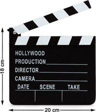 CLAP de Cinéma Bois Noir Décoration HOLLYWOOD Producteur film NEUF Pas cher