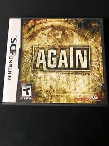Again (Nintendo DS, 2010) Complete!