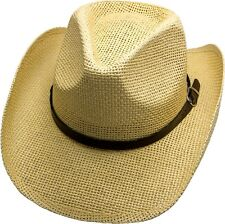 James Dean Cowboy Hat sand Straw Hat Tex Mex Western Has Country Trapper Riding