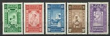 ETHIOPIA 1936 RED CROSS UNISSUED SET MINT