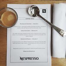 Nespresso DEGUSTAZIONE Cucchiaio Professional-Boxed E NUOVO-AUTHENTIC Nespresso