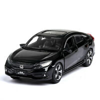 1:32 Scale Honda Civic Model Car Diecast Gift Toy Vehicle Collection Kids Black