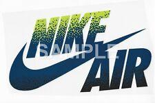 Nike vinyl iron on transfer