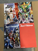 MIGHTY MORPHIN POWER RANGERS #1 COVER A B C D FULL SET 11/4 2020 BOOM!