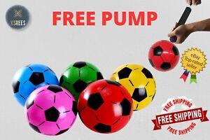 FOOTBALL BALL KIDS OUTDOOR TOY GARDEN GAME POCKET MONEY TOY FLAT UN-INFLATABLE