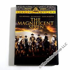 The Magnificent Seven DVD New Yul Brynner Steve McQueen Eli Wallach