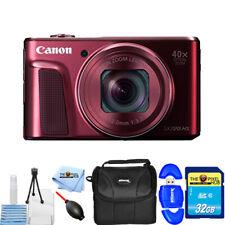 Canon PowerShot SX720 HS Digital Camera (Red) Starter 32GB Gadget Bag Bundle