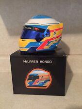 2017 Fernando Alonso 1/2 Helmet Mclaren F1 with Visor Tint