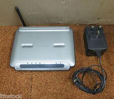 Belkin 4-porte ADSL 2 + MODEM con router Wireless-G F5D7632-4
