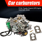 Carburetor For Toyota 2 Barrel Pickup 22r 1981-1987 W Green Round Plug 2.4l