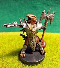 Dragonborn Myrmidon D&D Miniature Dungeons Dragons pathfinder paladin fighter 16
