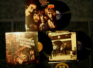 CREEDENCE CLEARWATER REVIVAL ...4Lp !!!