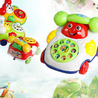 1Pc baby toys music cartoon phone educational developmental kids toy giftSG TWUK